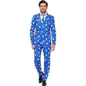 Suitmester Snowman & Stocking Christmas Suit Small